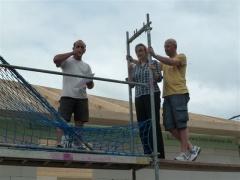 Der Zimmermann und die Bauherren